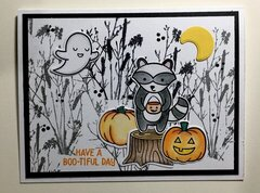 Have a BOO-tiful Day Halloween Card