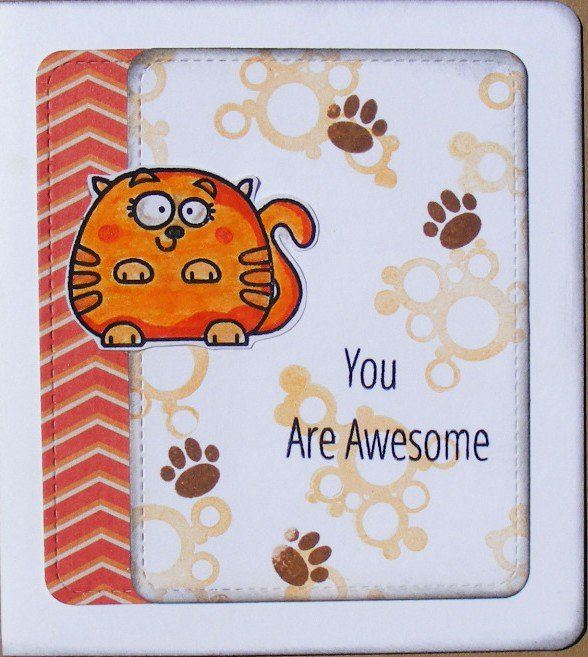 You are awesome (cards for kids)
