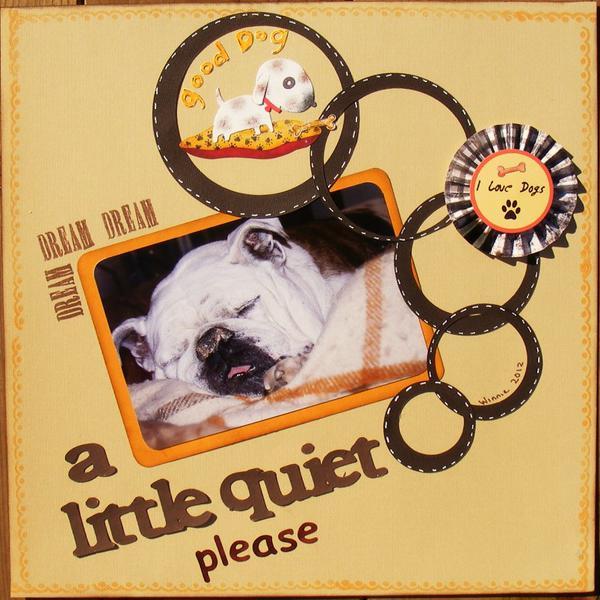 a little quiet please