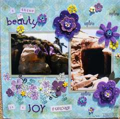 A thing of beauty is a joy forever