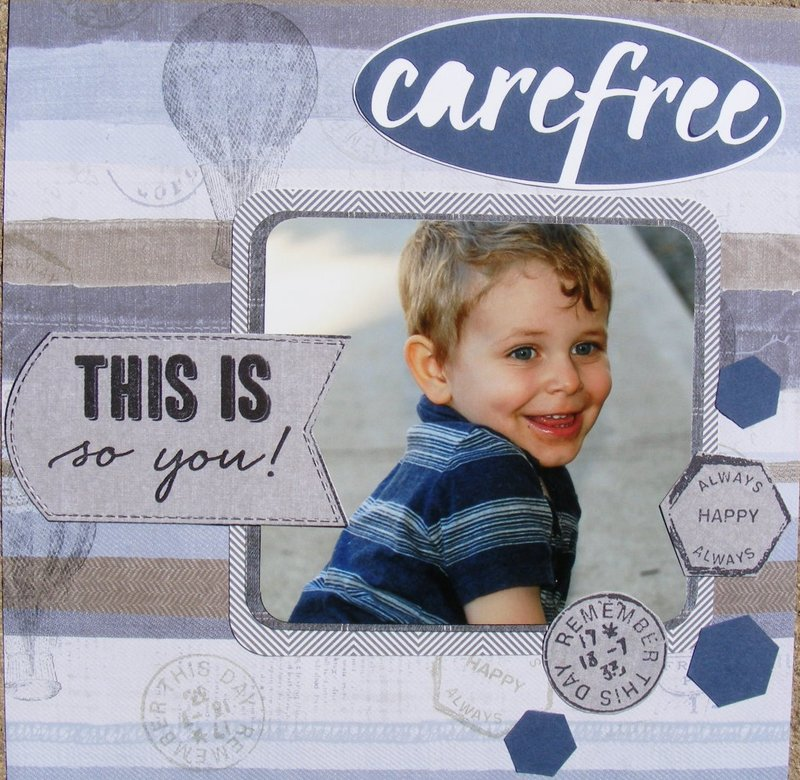 Carefree - this is you
