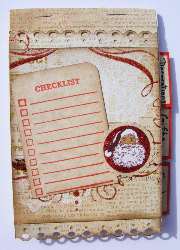 holiday checklist/planner 2015