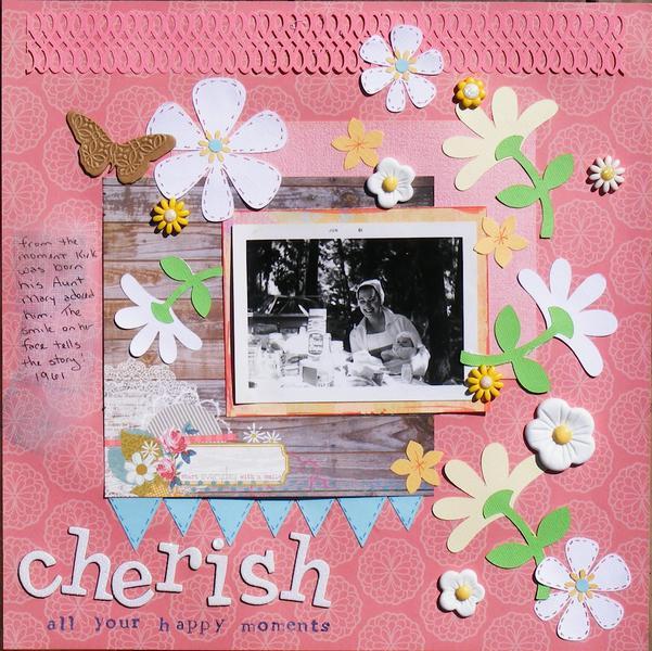 Cherish all your happy moments