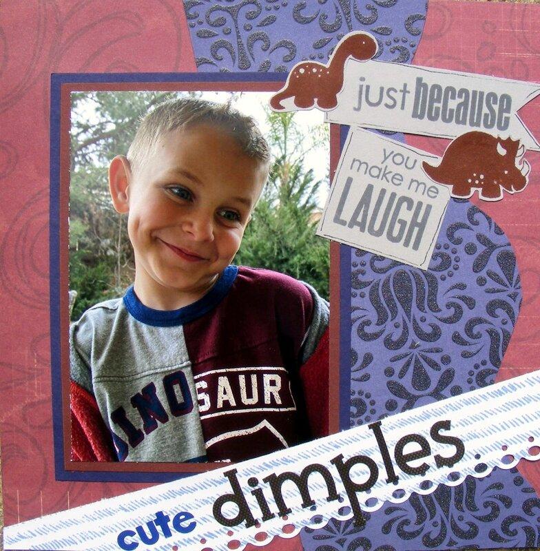 Cute dimples