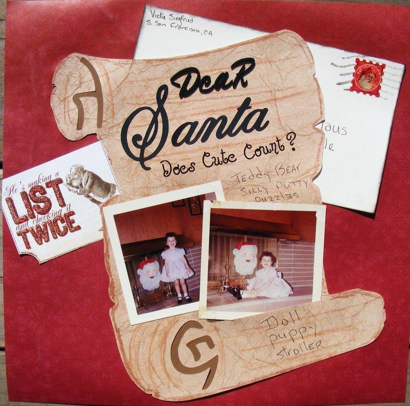 Dear Santa, does cute count???