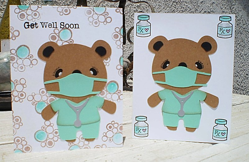 Cards for Kids - Get Well Dr. Teddy