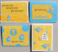 get well soon - cards for kids