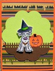 happy halloween pup
