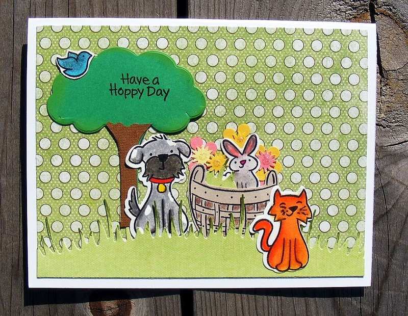 Have a Hoppy Day bday card