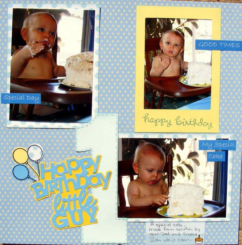 Happy Birthday little guy