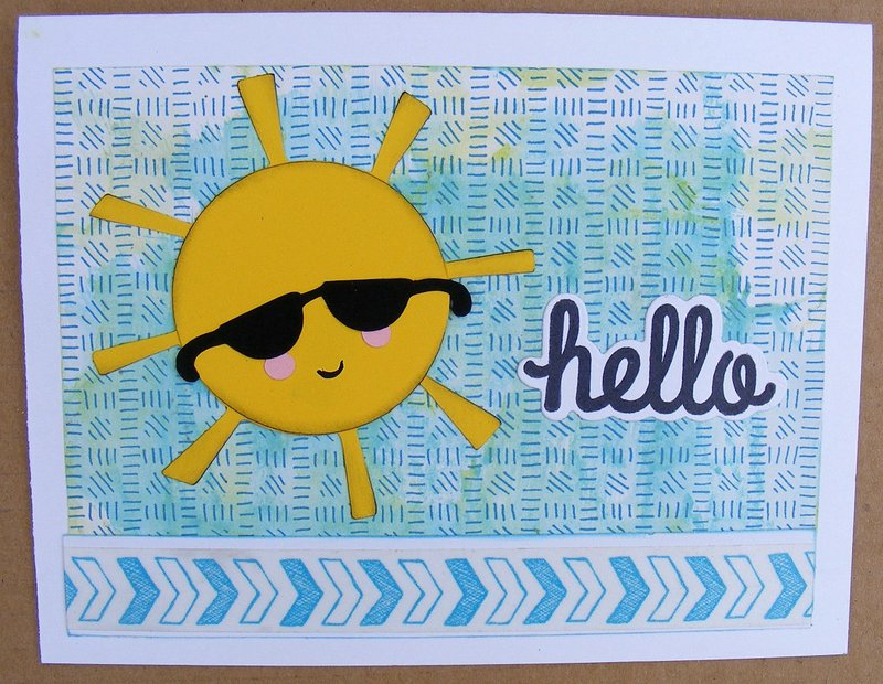 Hello (sunshine) - cards for kids