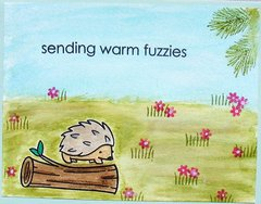 sending warm fuzzies