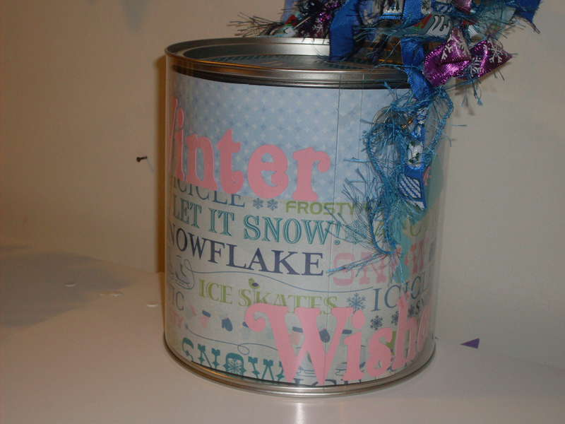 Altered Paint Can for my Grandma and Grandpa