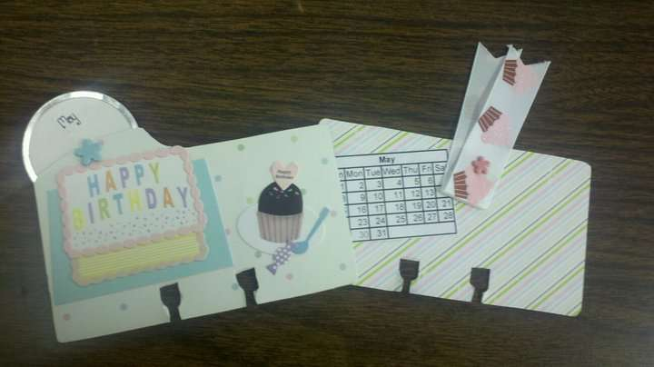Rolodex Calendar Cards