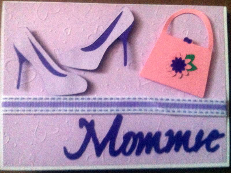 Mommie's Day Card