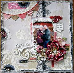 Love  ~C'est Magnifique Kits and Feb Sketch~