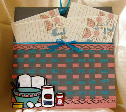Spring Weave Recipe Basket