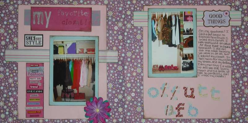 My Favorite Closet