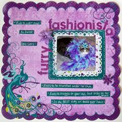 Furry fashionista
