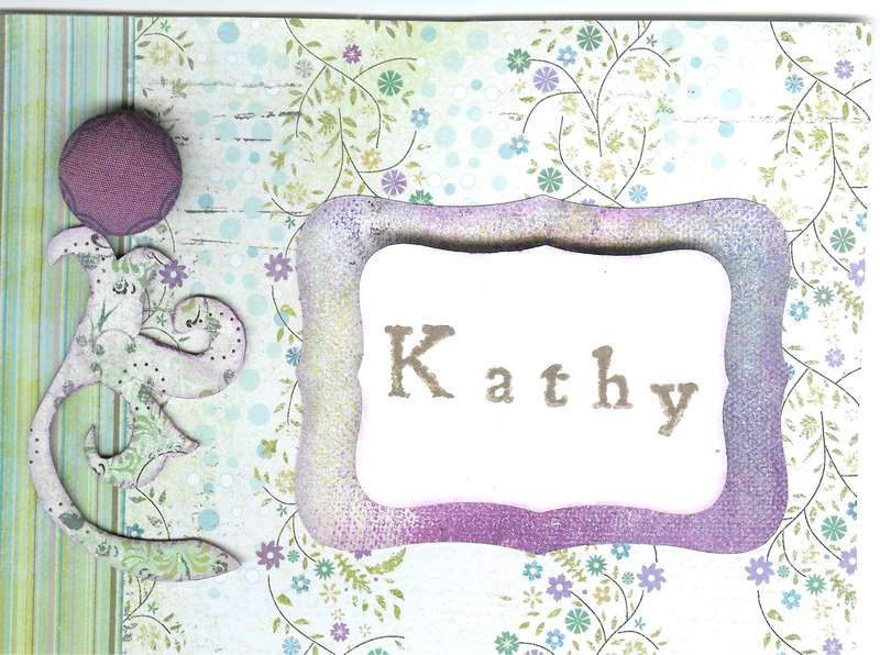 Kathy's thank you
