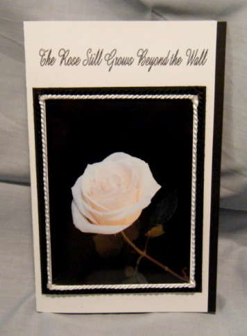 Rose  Grows Sympathy Card