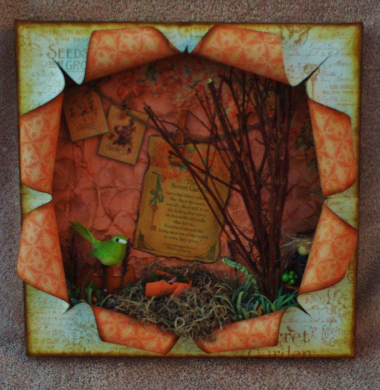 Graphic 45 Secret Garden Shadow Box