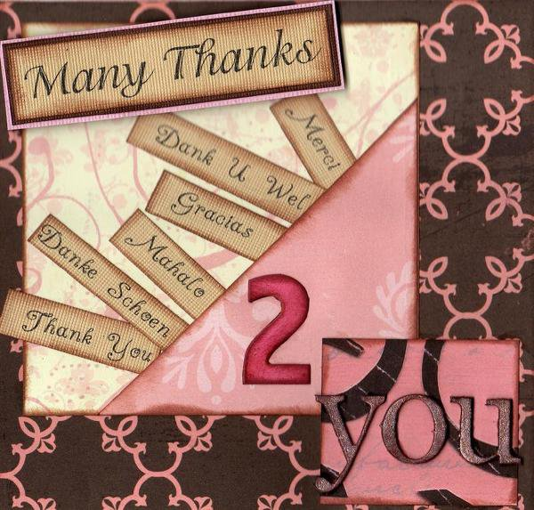 Many Thanks 2 You * Rusty Pickle * - Card