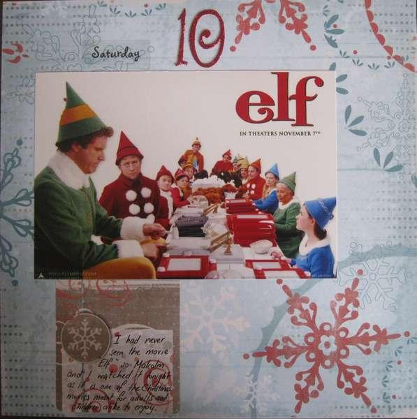 December Daily- Elf