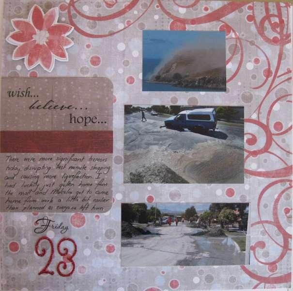 December Daily- Earthquake