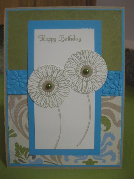 Floral Happy Birthday