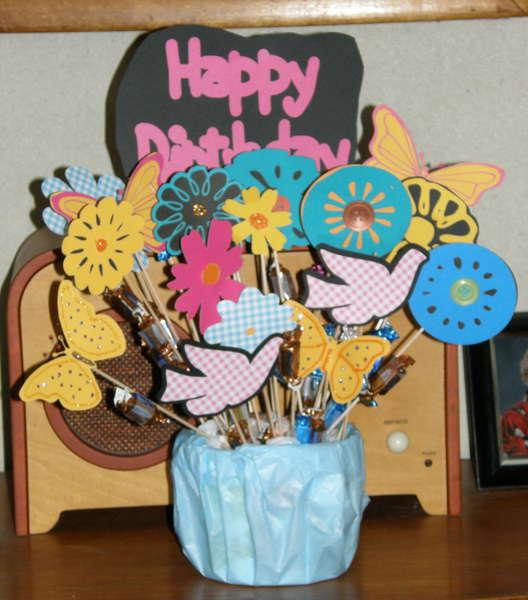 Grandma E's 91st Birthday Bouquet