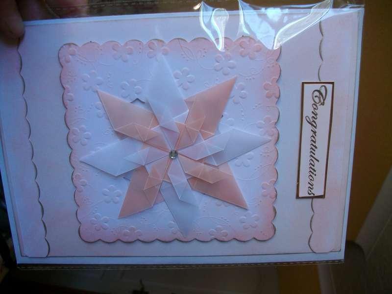 teabag folding card