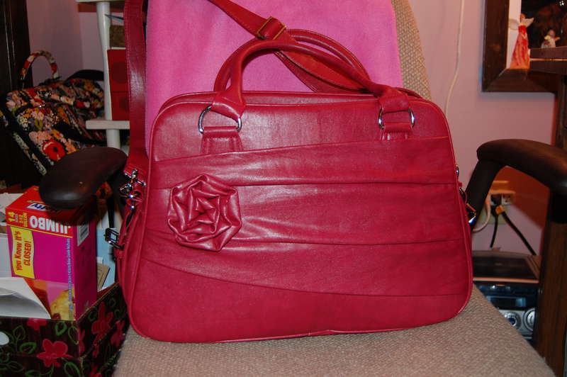 Jototes Rose bag in Raspberry