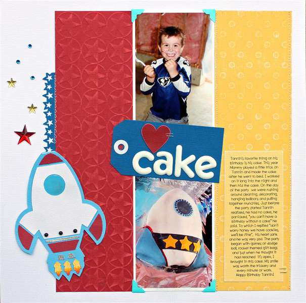 {heart} cake