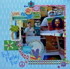 Bob Marley Bar ~ Cozumel