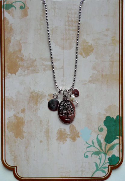 Family Tree Necklace ~ Packaged