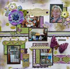 My Scraproom, My Happy Place ~ Nikilynn