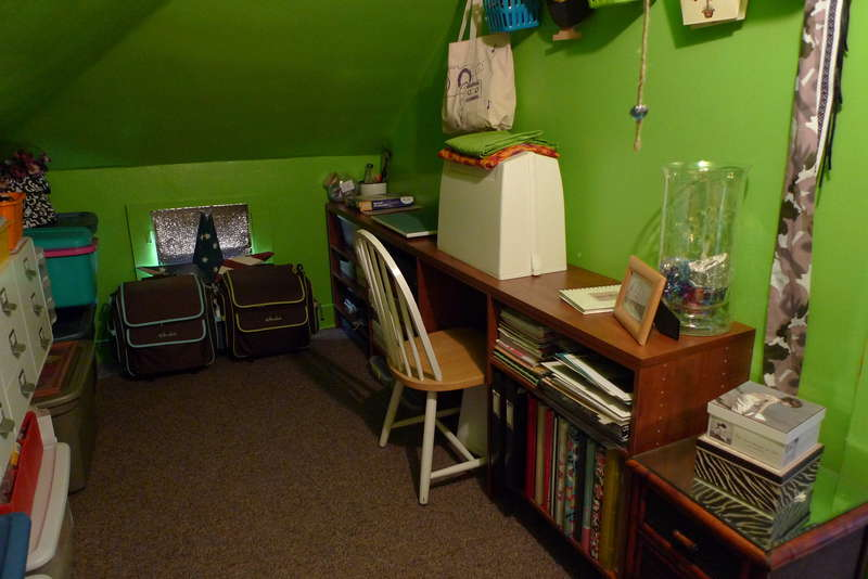 My Sewing & Ink Station ~ Phase 2