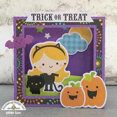 Doodlebug Design | Candy Carnival Shadow Box Card