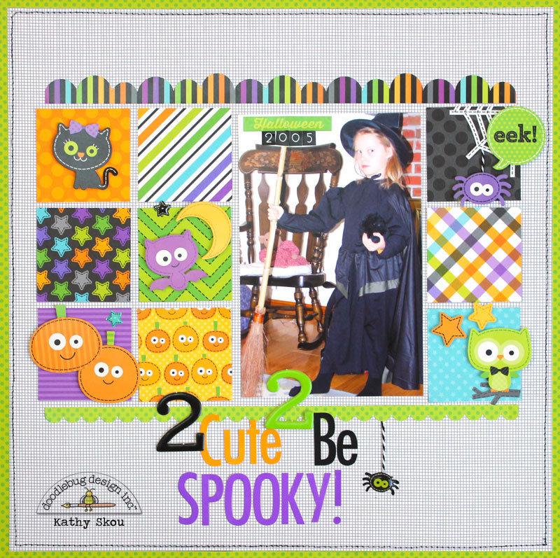 *** Doodlebug Design *** 2 Cute 2 Be Spooky