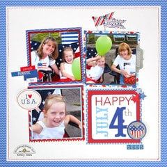 *** Doodlebug Design *** Happy July 4th