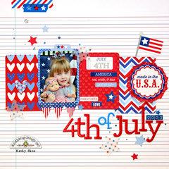 *** Doodlebug Design *** 4th of July