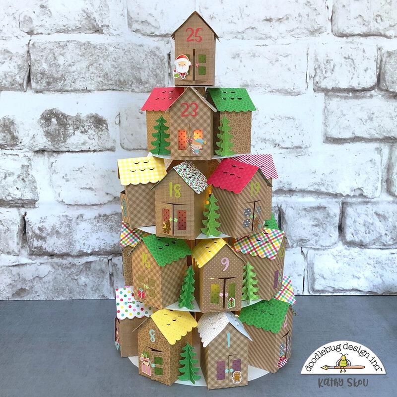Doodlebug Design | Christmas Magic Advent Calendar