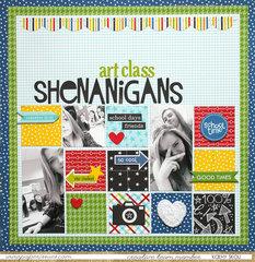Art Class Shenanigans