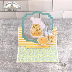 Doodlebug Design | Bar-B-Cute Floating Easel Card