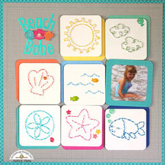 *** Doodlebug Design *** Beach Babe