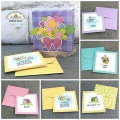 Doodlebug Design | Stamped Notecards in Box