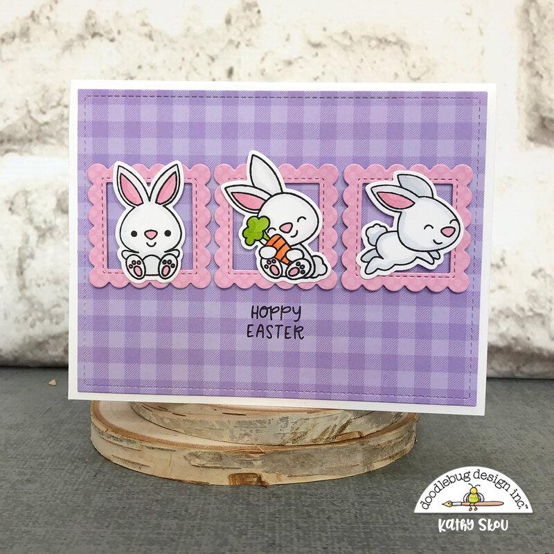 Doodlebug Design | Hoppy Easter Hoppy Easter Card