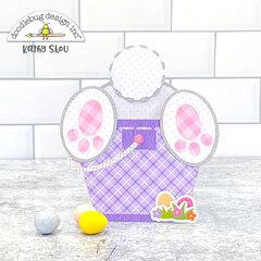 Doodlebug Design | Hippity Hoppity Bunny in Bucket Box Card