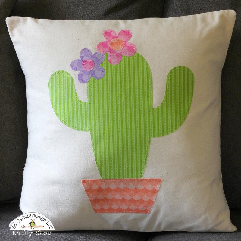*** Doodlebug Design *** Cut File Pillow